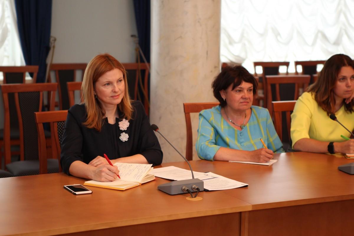 Встреча с проректором РГСУ Натальей Золотарёвой.