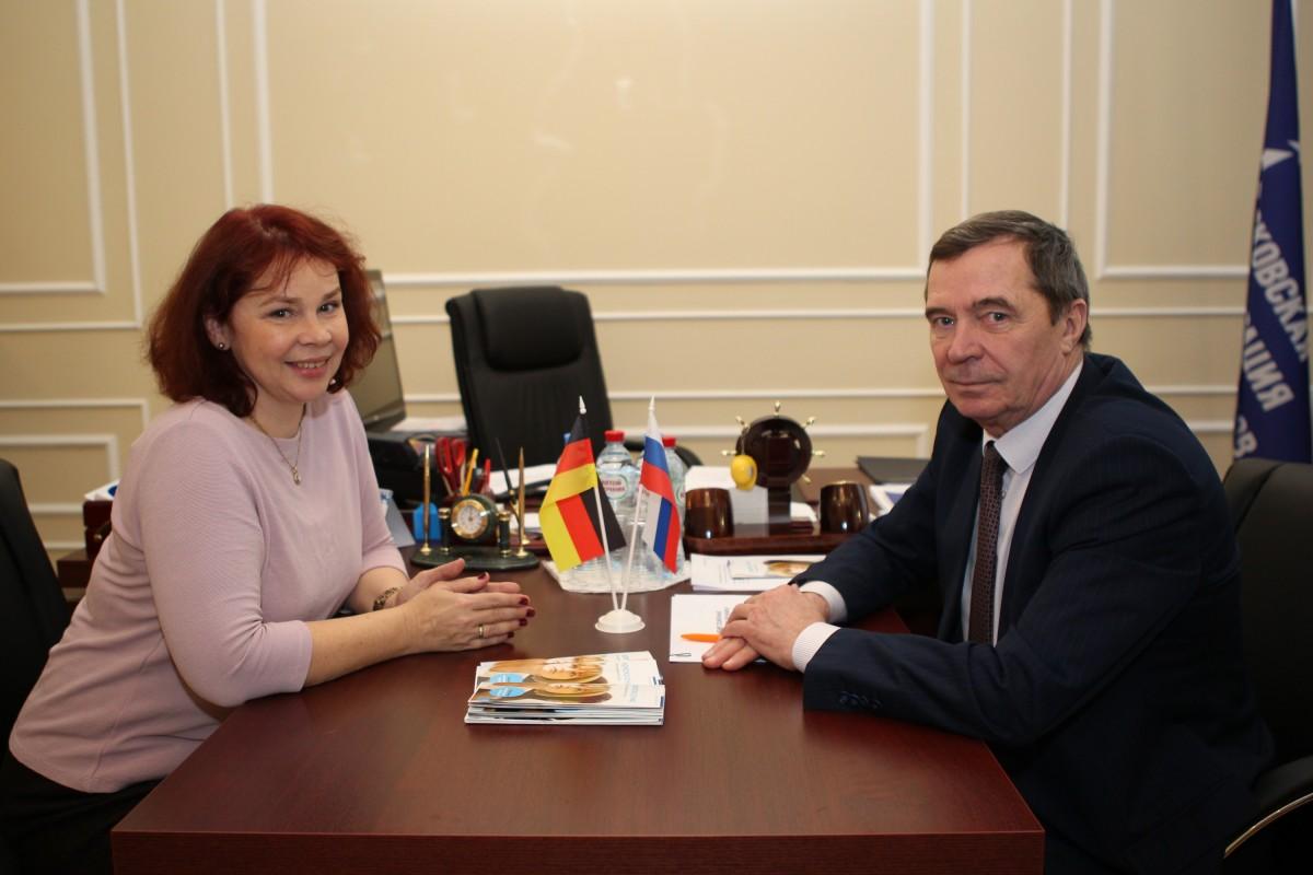 Международное сотрудничество Россия - Германия