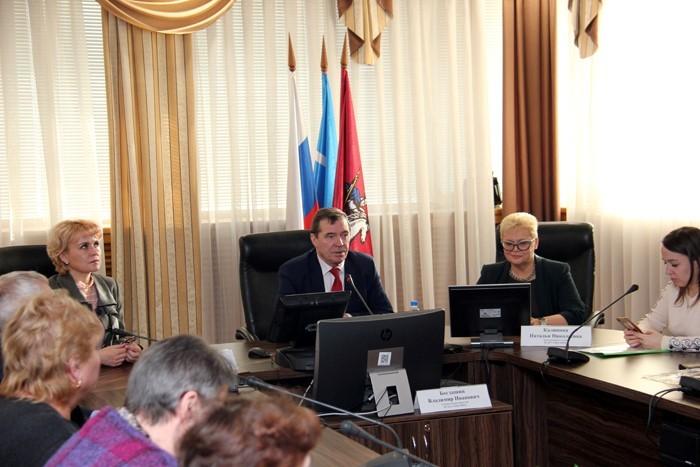 Обучение  членов Окружной трехсторонней комиссии САО