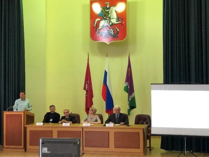 Обучение  членов Окружной трехсторонней комиссии ЮАО