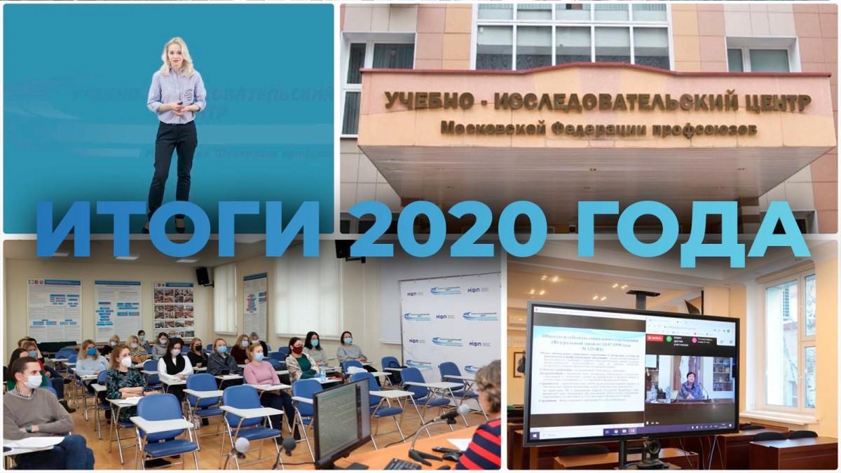 Образование в УИЦ МФП. Итоги 2020 года.